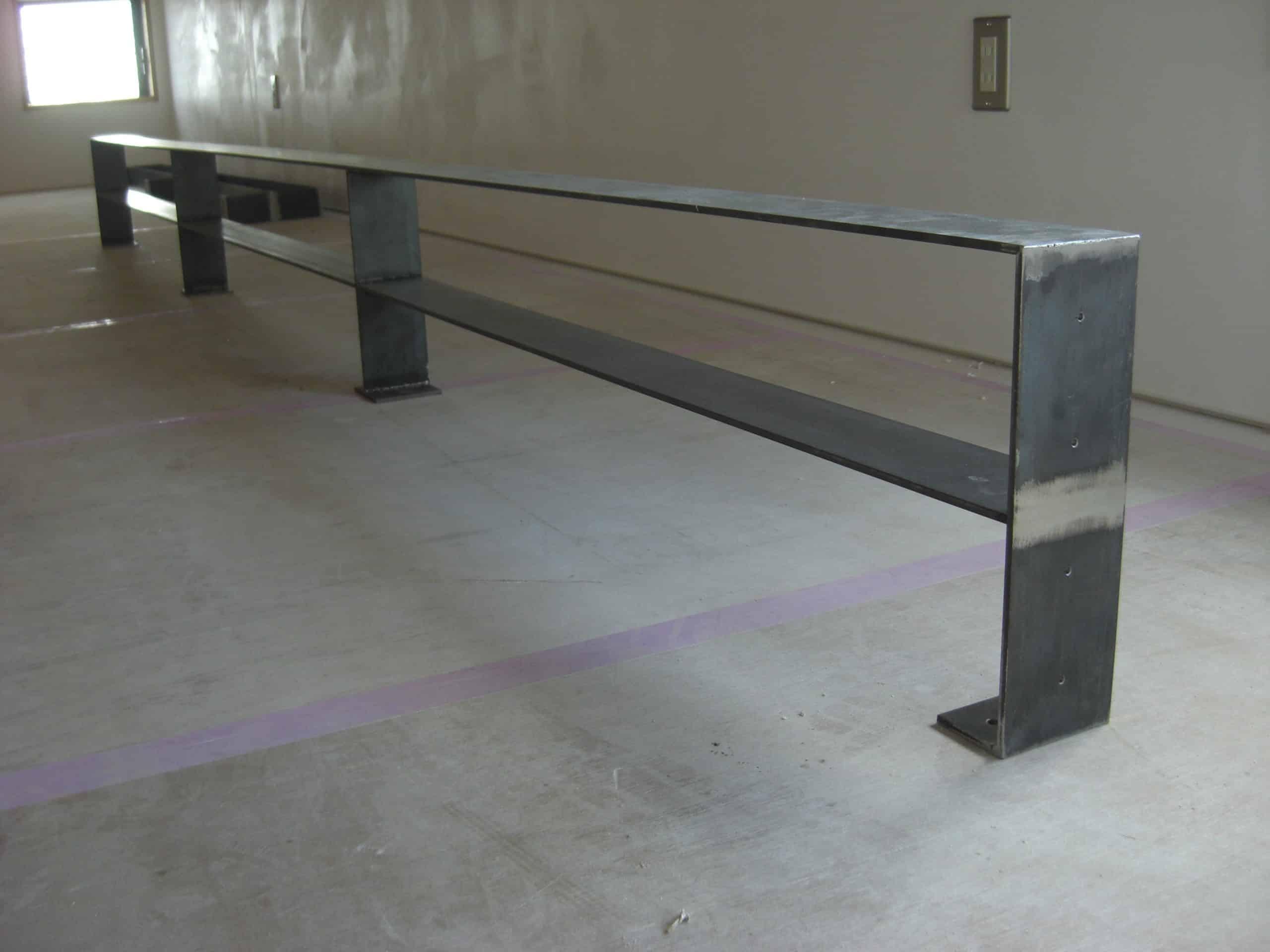 スチール階段手すりとロフトの柵を製作しました