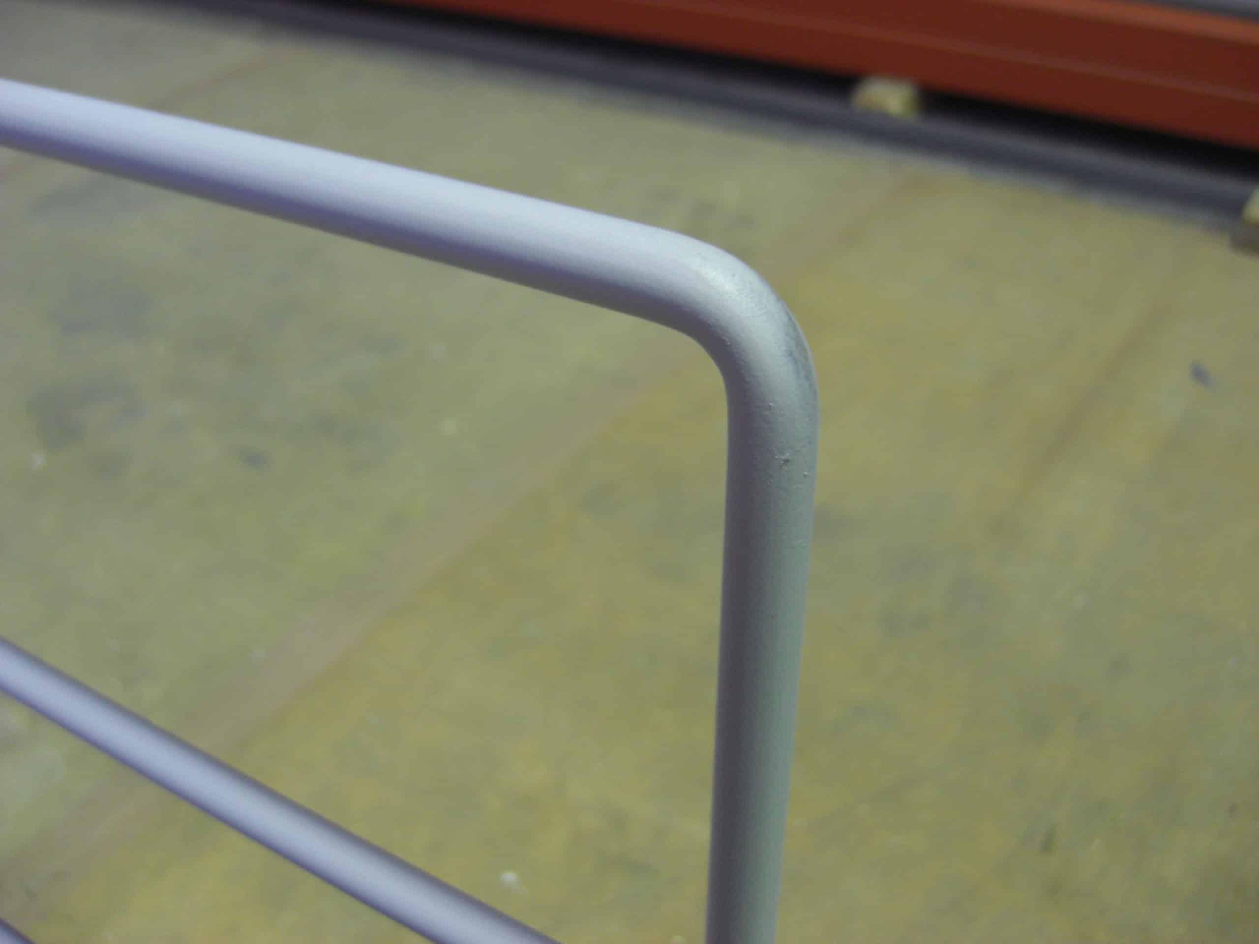 ロフトの柵を製作しました。