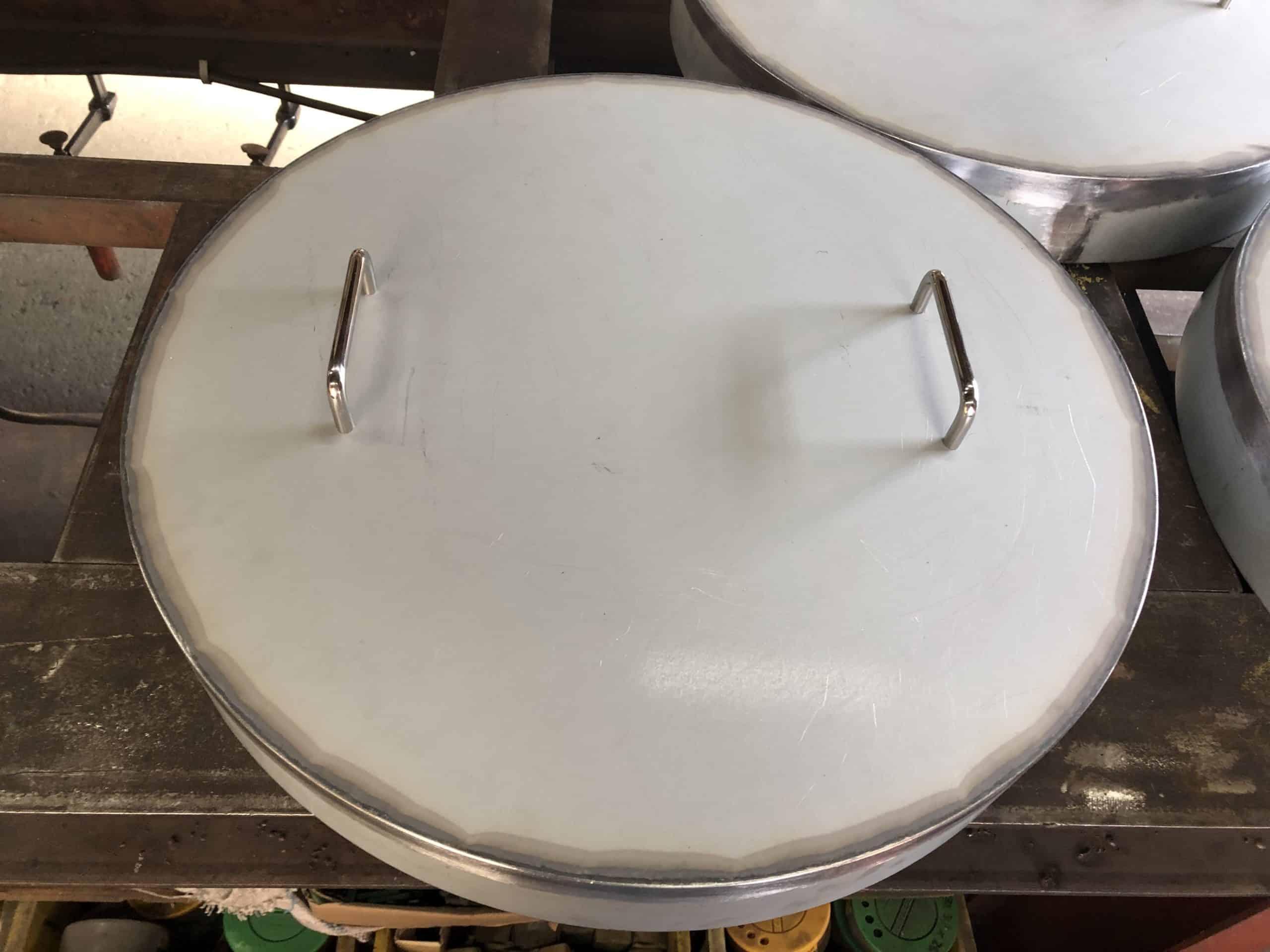 ドラム缶の蓋を製作しました