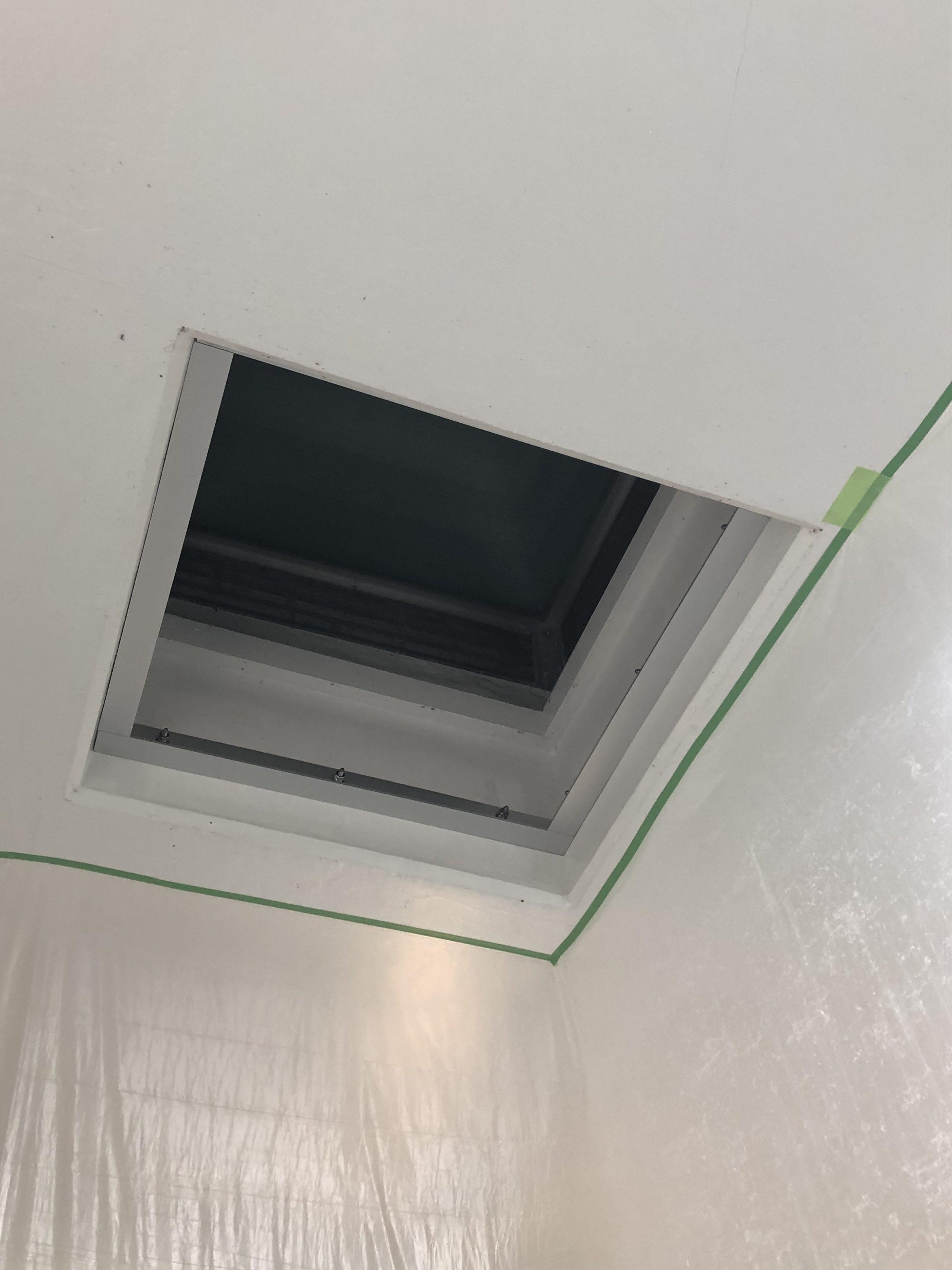 遮熱対策用下地を製作施工しました