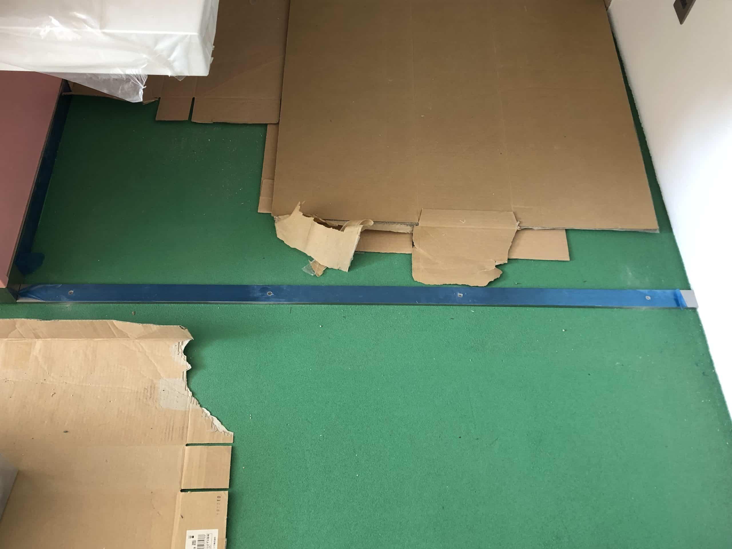 床見切りを製作施工しました