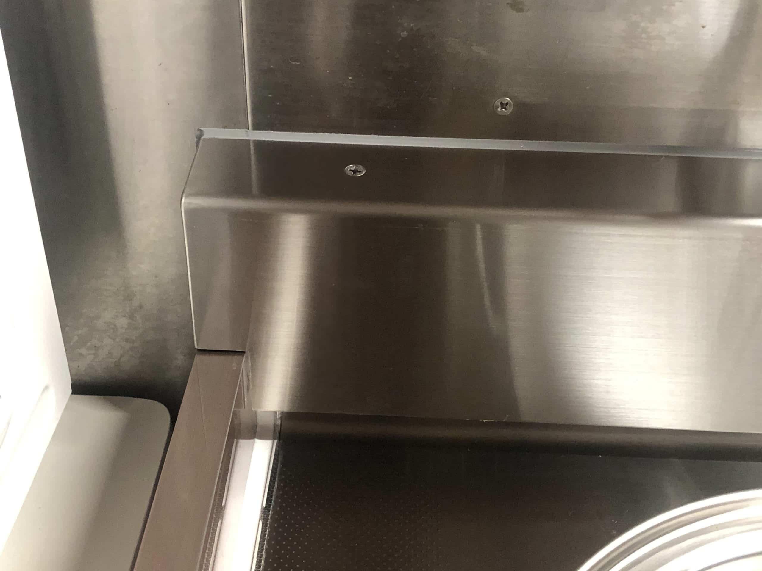 水切りを制作施工しました