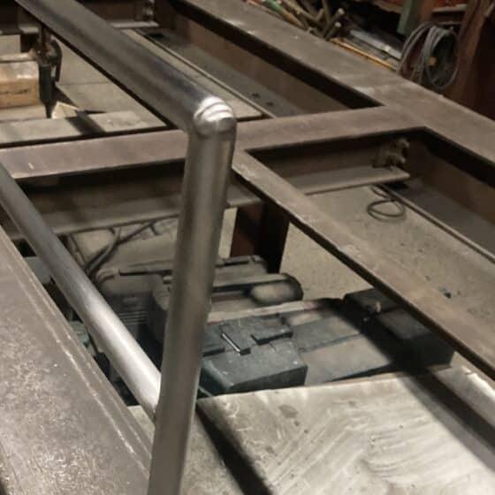 ロフトの転落防止柵を製作しました