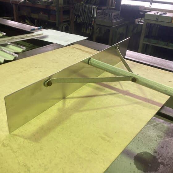 トンボ(農業用品)の板部分の交換をしました